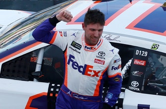Jeff Gordon says Denny Hamlin showed him a lot about his character with his win in Texas