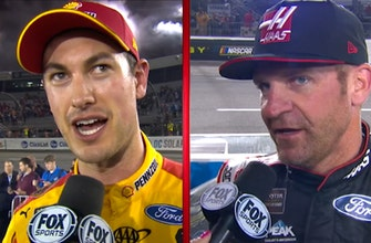 Joey Logano & Clint Bowyer on hunting Martin Truex Jr. for the win in Richmond