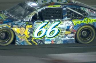 Joey Gase honors legendary NASCAR artist Sam Bass with unique paint scheme