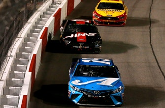 How Martin Truex Jr. was able to hold of both Joey Logano & Clint Bowyer to win at Richmond