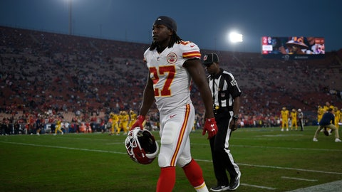 <p>               FILE - In this Nov. 19, 2018, file photo, Kansas City Chiefs running back Kareem Hunt walks on the sideline before an NFL football game against the Los Angeles Rams, in Los Angeles. Frank Clark will be making big bucks next season in the NFL. Kareem Hunt will get a shot at redemption. That video of Jeffery Simmons will be forgiven. So will Nick Bosa's tweets. Chances are, someone will find a way to employ Tyreek Hill. With the NFL _ and, really, everything in life _ it always comes down to the bottom line. And nothing's going to change until the fans say they've had enough, and actually mean it. (AP Photo/Kelvin Kuo, File)             </p>