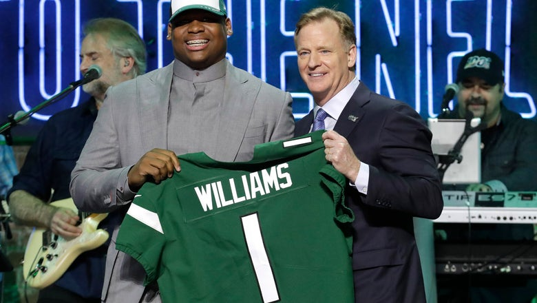 Jets draft Alabama DT Quinnen Williams with No. 3 pick
