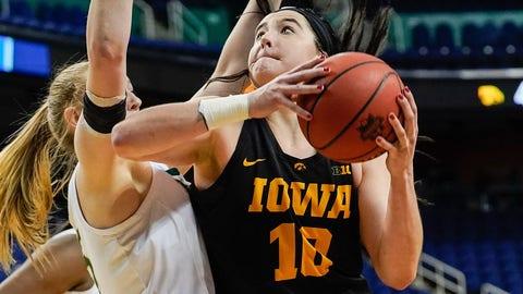 Megan Gustafson, Iowa, 6-3 center