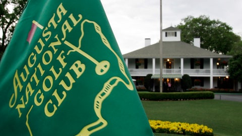 "<p>               FILE - In this April 4, 2007, file photo, cloudy skies appear above the clubhouse at the Augusta National Golf Club in Augusta, Ga. Over nearly four decades, David Loggins' ""Augusta"" has become ingrained in the CBS Masters broadcast. For many fans, the easy-flowing guitar and piano is one of the signals of spring. It's been a staple since 1982, when it aired the first time. Loggins said his moment of inspiration hit him while walking along the 14th fairway with a friend. (AP Photo/David J. Phillip, File)             </p>"