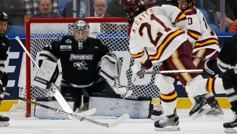 Minnesota Duluth beats Providence 4-1 in NCAA semifinals