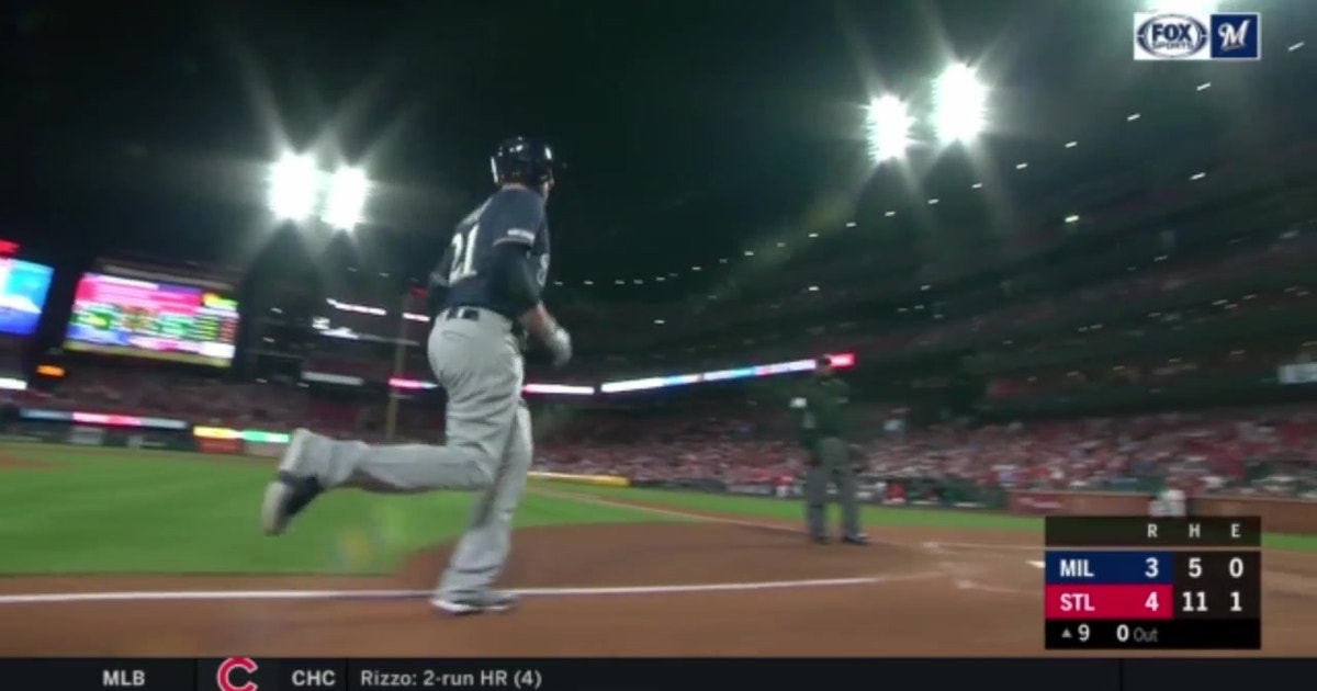 WATCH: Brewers' Shaw homers twice in loss to Cardinals