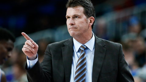 <p>               FILE - In this Dec. 31, 2017, file photo, UCLA coach Steve Alford gestures during the team's NCAA college basketball game against Washington in Los Angeles. Nevada hired former UCLA coach Alford on Thursday April 11, 2019, four days after Eric Musselman left for Arkansas. Alford is expected to be introduced at a Friday news conference. (AP Photo/Ringo H.W. Chiu, File)             </p>