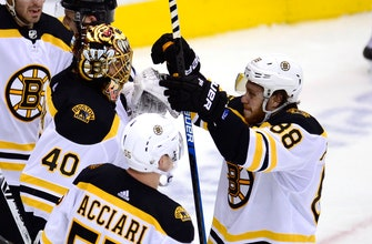 Marchand helps Bruins beat Maple Leafs 4-2 to force Game 7