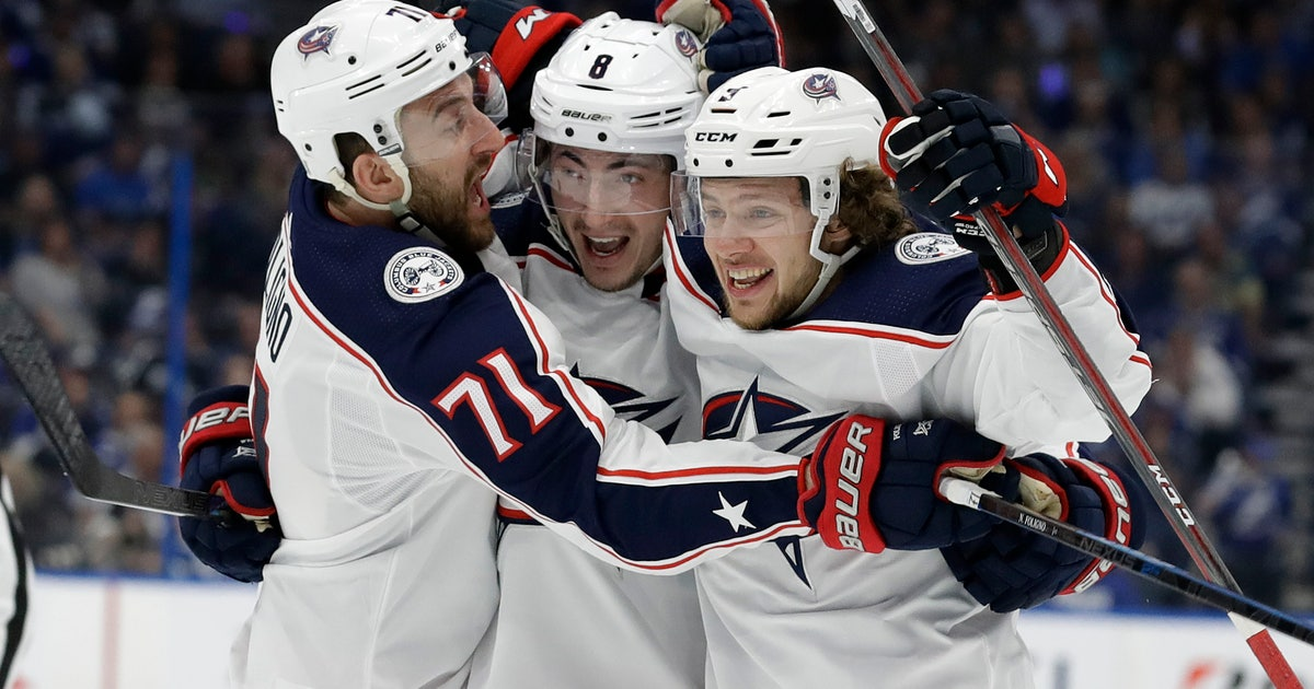 Channel Information for Columbus Blue Jackets Postgame Show (Game 1)