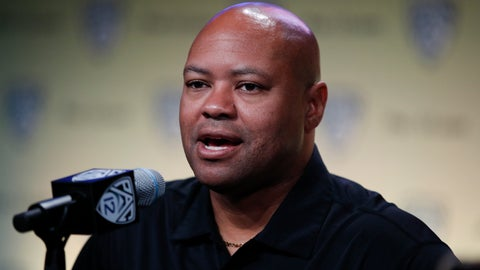 <p>               FILE - In this July 25, 2018, file photo, Stanford head coach David Shaw speaks at the Pac-12 Conference NCAA college football Media Day in Los Angeles. The NCAA's Division I Council meets this week in Indianapolis, and it is expected to vote by Friday, April 19, 2019, on an amendment to the rules regarding graduate transfers and financial aid. If passed the proposal would require a grad transfer to count against a team's scholarship total for two years no matter how much eligibility the player has remaining. Shaw, whose program routinely operates below the major-college maximum of 85 scholarship players, said he would not hesitate to bring in a star-level player as a grad transfer even if it meant having an vacant scholarship the next season. But teams could be less inclined to take that hit with a lesser player. (AP Photo/Jae C. Hong, File)             </p>