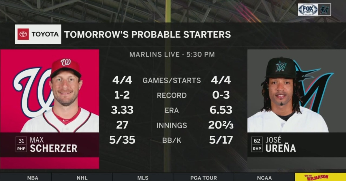 Marlins prepare for Nats after taking Game 1 of the series