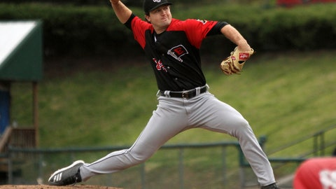 <p>               In this photo provided by Minor League Baseball, Erie SeaWolves pitcher Casey Mize delivers against the Altoona Curve during a minor league baseball game, Monday, April 29, 2019, in Altoona, Pa. Mize, the Detroit Tigers' No. 1 draft pick, pitched a no-hitter for the SeaWolves in his Double-A debut Monday night. (Mark Olson/Minor League Baseball via AP)             </p>