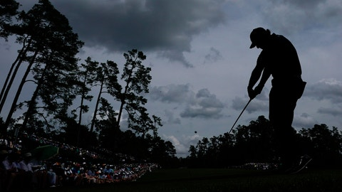 <p>               Phil Mickelson hits a drive on the 14th hole during the second round for the Masters golf tournament Friday, April 12, 2019, in Augusta, Ga. (AP Photo/David J. Phillip)             </p>