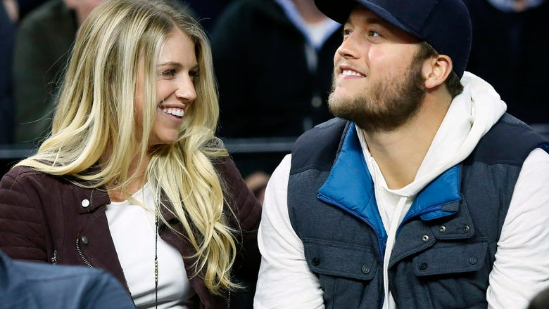 Lions QB Stafford sits out workout as wife has brain tumor