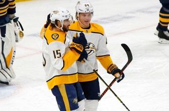 Johansen lifts Predators to 3-2 win over slumping Sabres