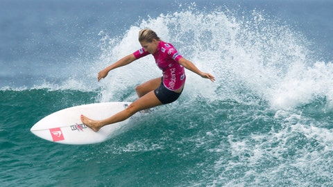 <p>               FILE - In this May 12, 2012, file photo, Australia's Stephanie Gilmore competes in the Association of Surfing Professionals, ASP, Billabong Rio Pro women's surfing competition at Barra da Tijuca beach in Rio de Janeiro, Brazil. Qualifying for the inaugural Olympic surfing competition at Tokyo 2020 has begun at Australia's Gold Coast with a World Surf League event where seven-time world champion Gilmore leads the women's field. Defending Gold Coast champion and fellow Australian Julian Wilson feature in a strong men's field that includes American great and 11-time world champion Kelly Slater and reigning series champion Gabriel Medina. (AP Photo/Felipe Dana, File)             </p>