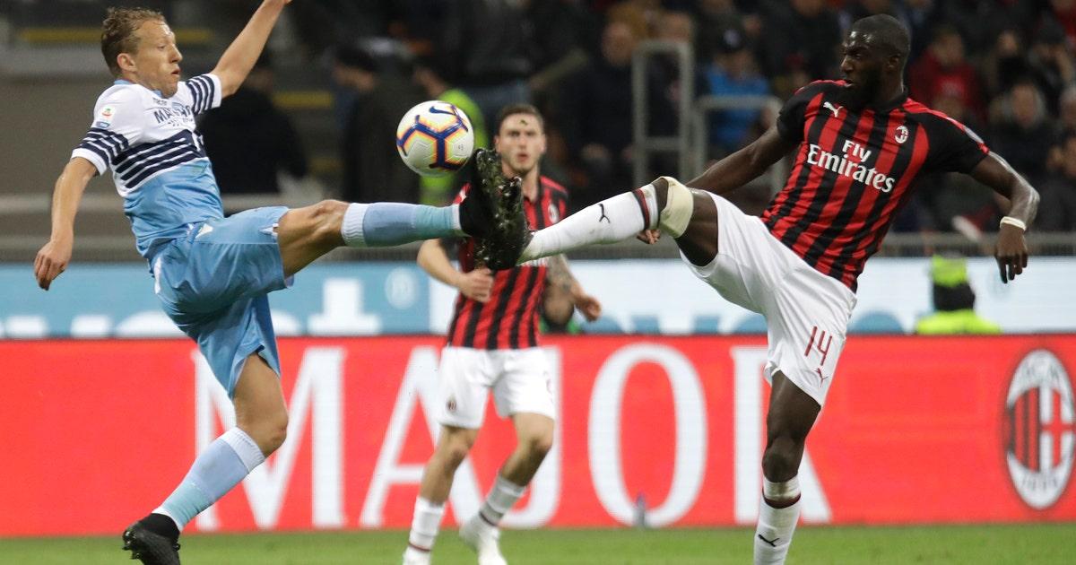Video shows Lazio fans' racist chants aimed at Bakayoko