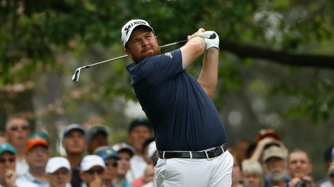 <p>               Shane Lowry, of Ireland, hits on the fourth hole during the first round for the Masters golf tournament Thursday, April 11, 2019, in Augusta, Ga. (AP Photo/Matt Slocum)             </p>