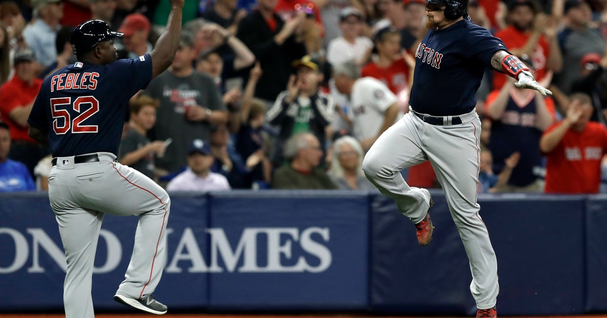 Betts, Moreland homers lead Red Sox to 6-4 win over Rays