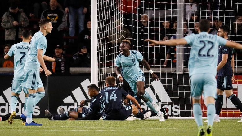 Rusnák scores 2 goals, Real Salt Lake tops FC Cincinnati 3-0