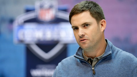 <p>               FILE - In this Feb. 27, 2019, file photo, Cincinnati Bengals head coach Zac Taylor speaks during a press conference at the NFL football scouting combine in Indianapolis. A third straight losing season prompted the Bengals to finally end coach Marvin Lewis' run at 16 seasons without a playoff victory. Zac Taylor and a youthful coaching staff were brought aboard and handed a team closely resembling the one that finished at the bottom of the AFC North last season.  The draft will be an important chance to fill some big holes overall, and maybe even pull a big surprise in the first round when the Bengals pick No. 11 overall. (AP Photo/Darron Cummings, File)             </p>