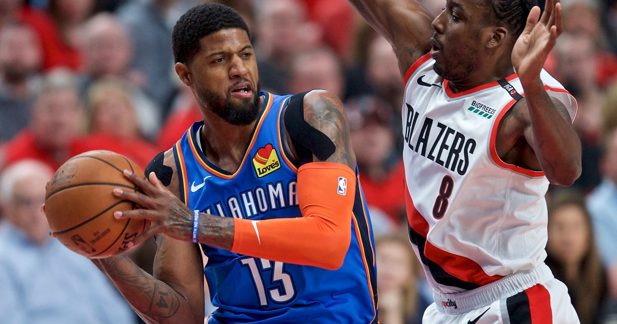 Thunder's Paul George out of sync, looking to find rhythm