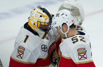 Panthers goalie Luongo to turn 40, figure out what's next