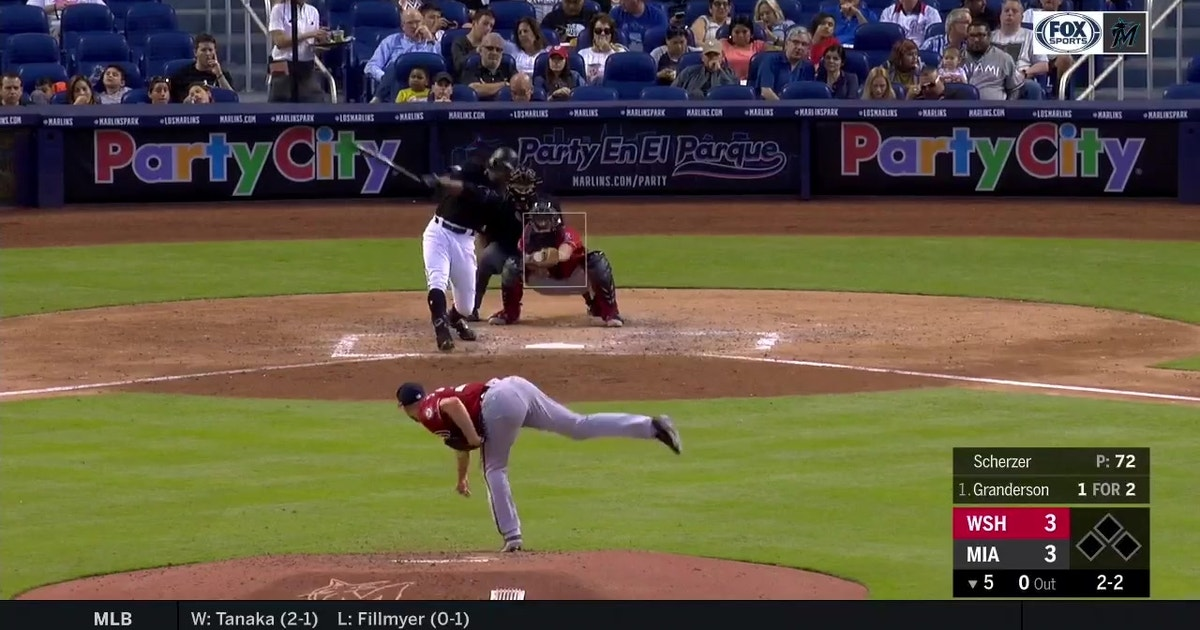 WATCH: Marlins rack up back-to-back runs in 9-3 win over Nationals