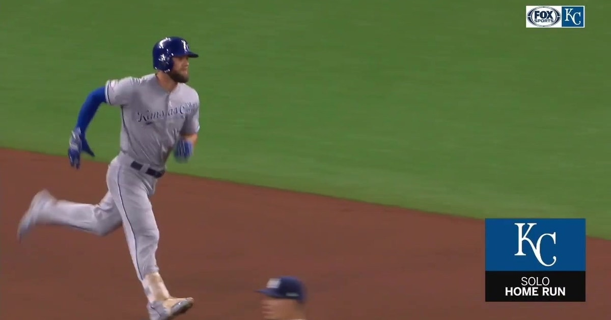WATCH: Gordon, Soler and Dozier all connect to hit solo homers against Rays