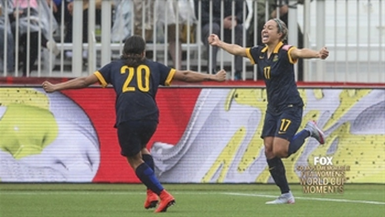 49th Most Memorable Women's World Cup Moment: Australia upsets Brazil, Kyah Simon's late decisive goal