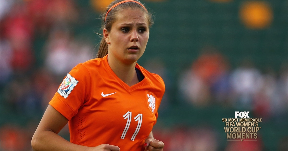 44th Most Memorable Women's World Cup Moment: Lieke Martens for the Netherlands