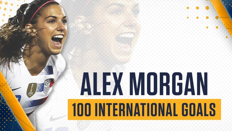 Alex Morgan scores 100th international goal for the USWNT