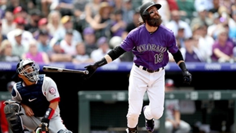 Charlie Blackmon belts his 3rd home run of the year in win over Nationals