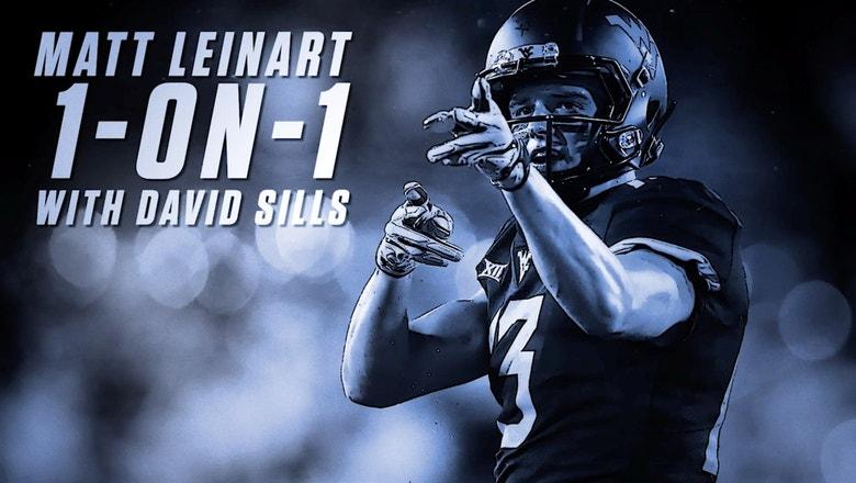 Matt Leinart goes 1-on-1 with NFL prospect David Sills V