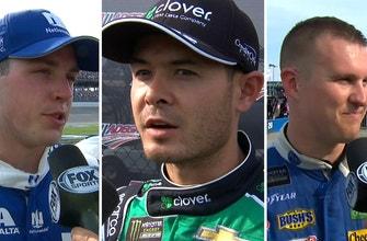 Alex Bowman, Kyle Larson and Ryan Preece discuss Talladega | INTERVIEWS | NASCAR ON FOX