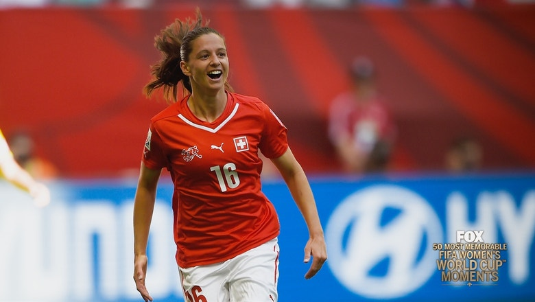 44th Most Memorable Women's World Cup Moment: Fabienne Humm's Hat Trick