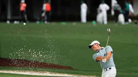 <p>               Rory McIlroy, of Northern Ireland, practices on the driving range at the Masters golf tournament Tuesday, April 9, 2019, in Augusta, Ga. (AP Photo/Matt Slocum)             </p>