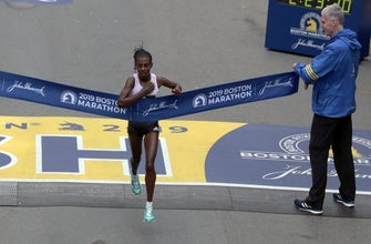 Ethiopia's Worknesh Degefa cruises to Boston Marathon title