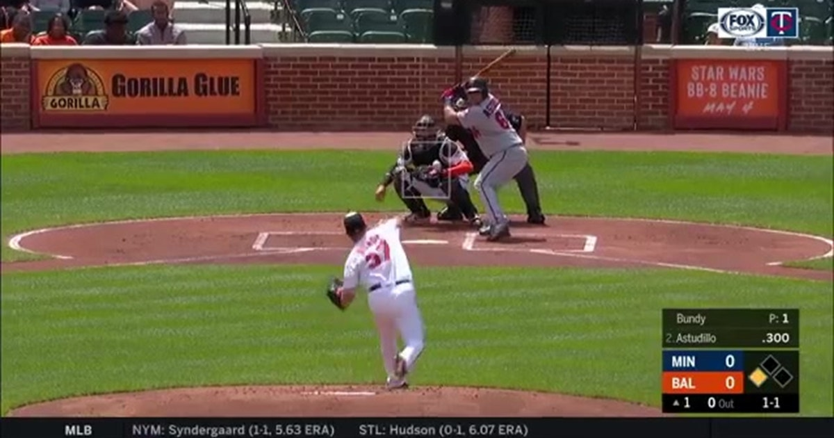 WATCH: Twins' Astudillo, Cron and Cave pick up RBI hits