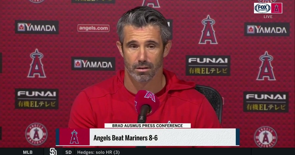 Brad Ausmus post-game interview after 8-6 win over the Mariners