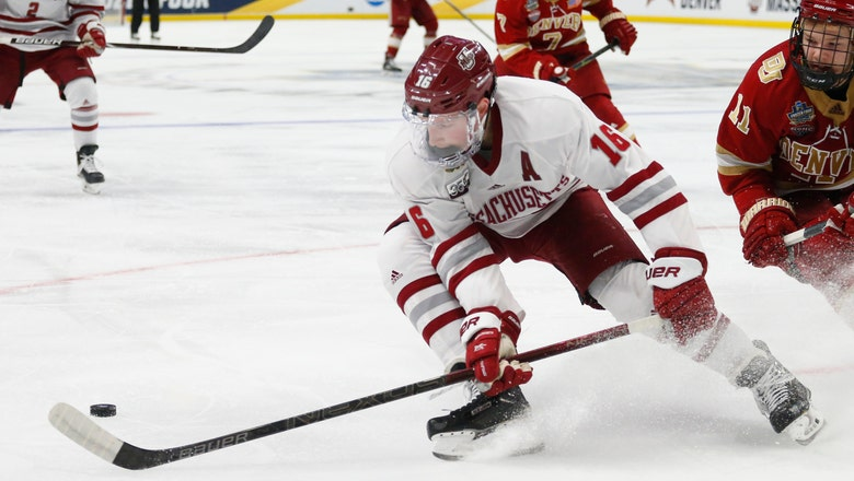 UMass D Makar wins Hobey Baker award as college hockey's MVP