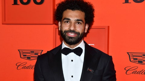 <p>               Egyptian soccer player Mohamed Salah attends the Time 100 Gala, celebrating the 100 most influential people in the world, at Frederick P. Rose Hall, Jazz at Lincoln Center on Tuesday, April 23, 2019, in New York. (Photo by Charles Sykes/Invision/AP)             </p>