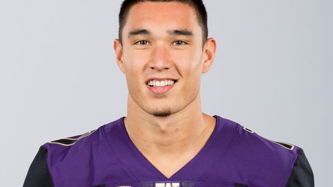 <p>               This Aug. 22, 2018, photo provided by the University of Washington shows Taylor Rapp. Rapp is a possible pick in the 2019 NFL Draft.(Scott Eklund/University of Washington via AP)             </p>