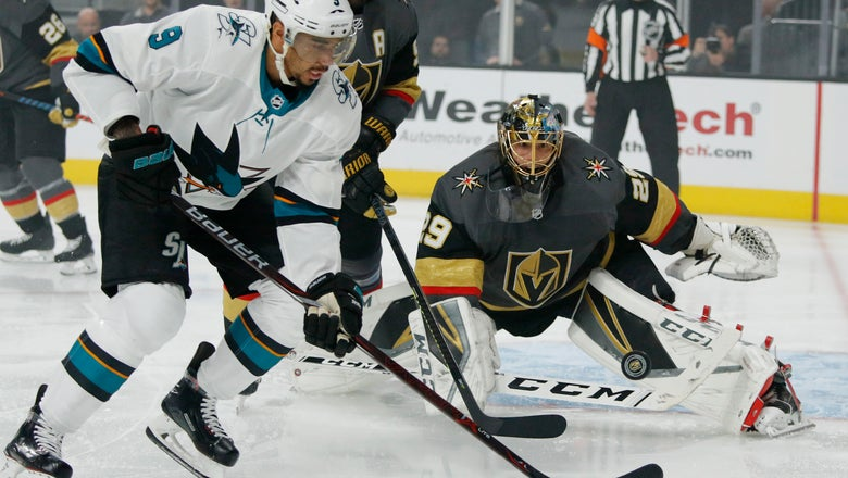 Golden Knights one win from advancing to 2nd round again