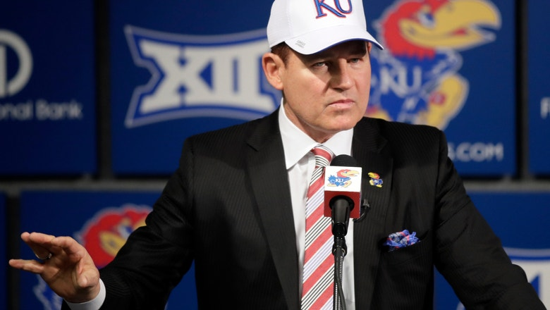 Les Miles trying to get Kansas ahead of the curve