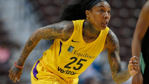<p>               FILE - In this Wednesday, May 8, 2018 file photo, Los Angeles Sparks' Cappie Pondexter during a preseason WNBA basketball game in Uncasville, Conn. Cappie Pondexter knew it was time to retire from playing basketball and move on to other things in her life. The two-time WNBA champion announced her retirement Tuesday, April 16, 2019 on Instagram and spoke with The Associated Press about her decision. (AP Photo/Jessica Hill)             </p>