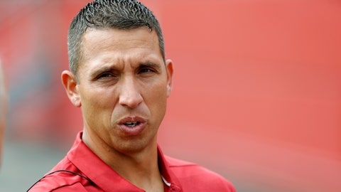 "<p>               FILE - In this Aug. 7, 2018, file photo, Iowa State coach Matt Campbell speaks to a reporter during the NCAA college football team's media day in Ames, Iowa.  The Cyclones will lean on Tarique Milton and Deshaunte Jones, both of whom saw significant snaps a year ago, and hope for a few young players to emerge in the months ahead. ""We think there are some really talented guys there,"" Campbell said. ""There are certainly some different guys that have risen to the occasion. What great competition breeds (is) some success, and that's been really fun to watch."" (AP Photo/Charlie Neibergall, File)             </p>"