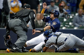 Brewers can't back Zach Davies in loss to Dodgers