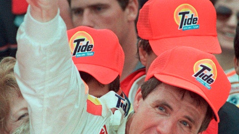 <p>               FILE - In this Feb. 19, 1989, file photo, Darrell Waltrip celebrates in Victory Lane after winning the Daytona 500 auto race in Daytona Beach, Fla.  Waltrip will soon Boogity! Boogity! Boogity! his way into retirement. Everyone yearns for an opportunity to say farewell on their own terms, so with that, Waltrip should bring his second career as a NASCAR broadcaster to a close and squeeze out his classic catchphrase on his own terms as Fox Sports closes its portion of the broadcast deal. (AP Photo/Doug Jennings, File)             </p>