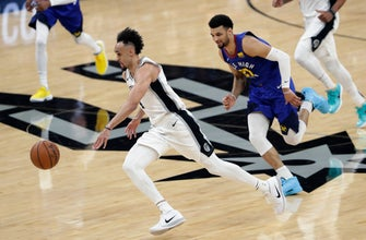 Spurs beat Nuggets 118-108 to take 2-1 series lead